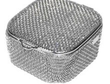 Fine mesh basket/ dental washing/ sterilization basket