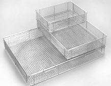 Full wire SPRI standard transport/ washing/ sterilization basket (Stackable)
