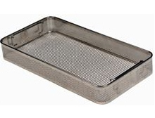Perforated instrument tray, stackable(DIN, DIN 58952, EN 285)