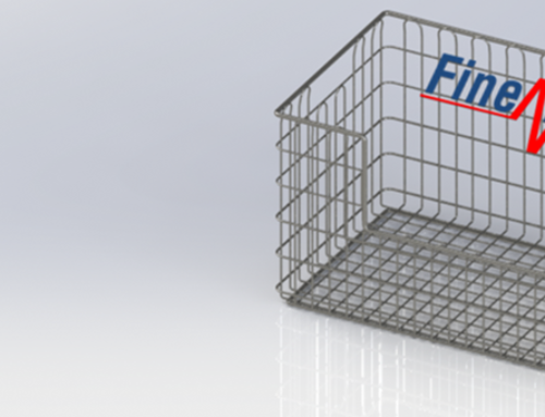 Sterilization/ sterile goods wire baskets (DIN size)