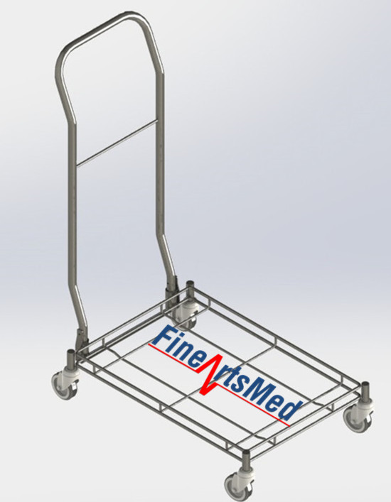 ISO-SPRI BASKET TROLLEY