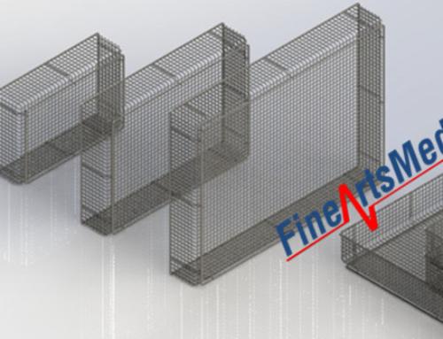 Full wire instrument trays, SPRI