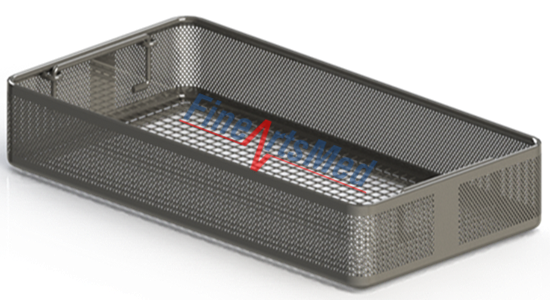 DIN - PERFORATED INSTRUMENT TRAY