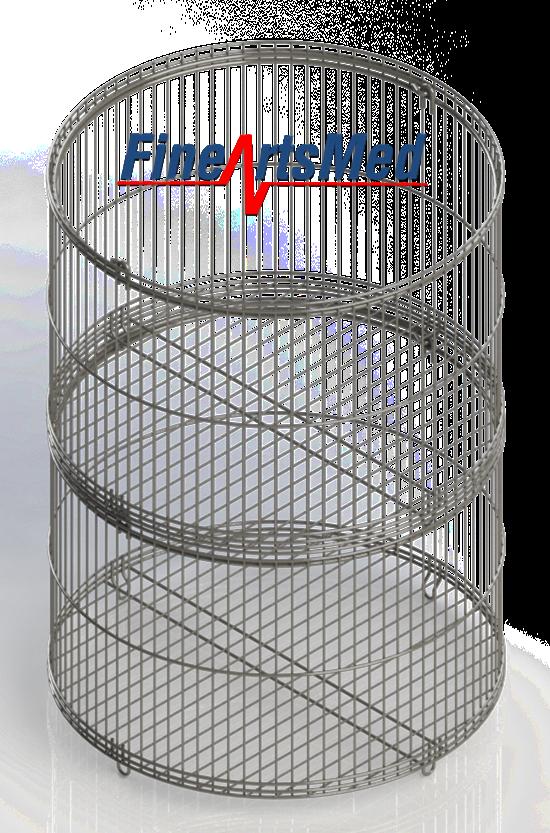 Vertical Sterilizer basket - stack