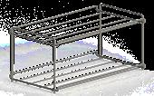shoe rack, hangable-