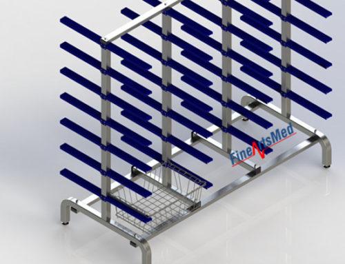 Sterile basket rack – for SPRI/ ISO/ DIN standard size