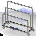 paper dispensing rack wo shelf