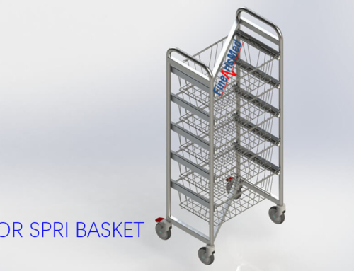 Z-TROLLEYS, FOR DIN/ ISO/ SPRI STERILE GOODS BASKETS