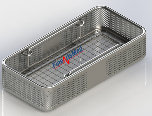 1/4 DIN PERFORATED INSTRUMENT TRAY